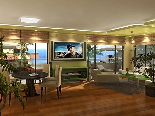 Изработка на идеен 3Д проект на Апартамент