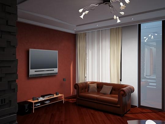 Изработка на 3D визуализации за Апартамент