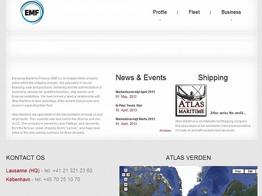 Изработка на уеб дизайн респонсив (responsive) за EMF
