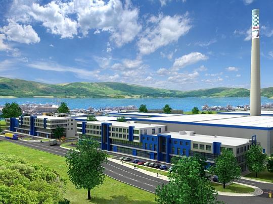 Изработка на 3Д визуализации за Логистик Парк Варна