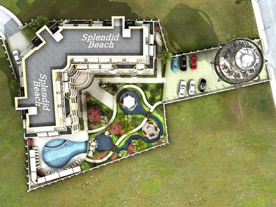 Изработка на 3Д визуализации за Сплендид Бийч