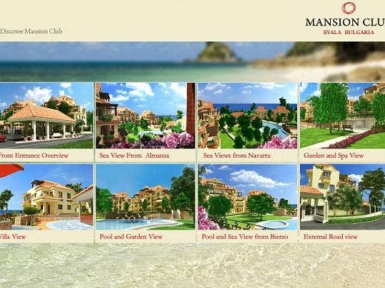 Уеб сайт Mansion Club