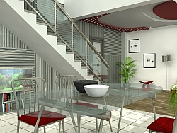 3D interior project for an Apartment