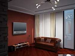 Apartment 3D interior visualizations