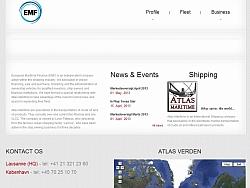 Creating responsive website for EMF