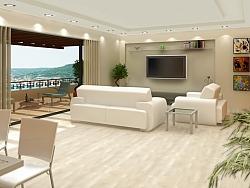 Изработка на интериорни 3D визуализации Mansion Club