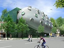Административна сграда 3D визуализация