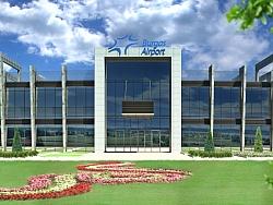 Изработка на 3Д визуализации за Летище Бургас