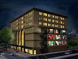 3Д визуализации на Търговски Център Дорелов