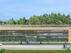 3Д проект на сграда Досев Импекс Варна