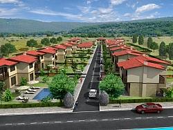 Екстериорни 3Д визуализации на Вилно селище Нордик Хилс