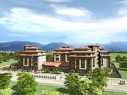 Изработка на 3Д анимация за Хотелски комплекс в Разлог