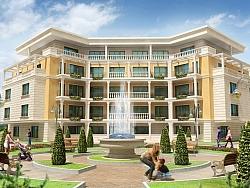 Изработка на 3Д анимация за жилищен комплекс Галата