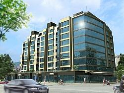3D анимация Бизнес сграда Санара в София