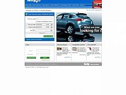Изработка на уеб сайт за фирма Thrifty Rent-a-car
