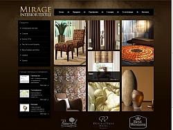Уеб дизайн и изработка на сайт за фирма Мираж Варна