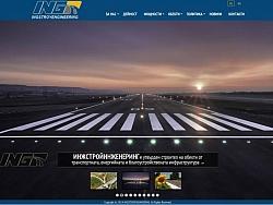 Изработка на уеб сайт с мобилна версия за Инжстройинженеринг Варна