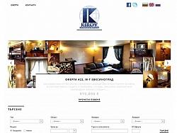 Уеб дизайн и уеб сайт за агенция за недвижими имоти Киров Варна