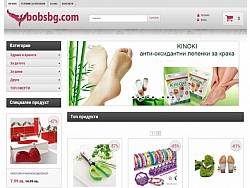 Online shop with a control panel for BobsBG