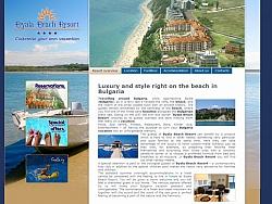 Изработка на сайт за хотел Бяла Бийч Ресорт