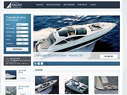 Creating website for Yacht Charters