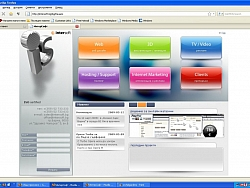 Уеб дизайн студио Интерсофт