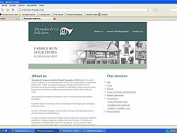 Сайт на Адвокатска практика