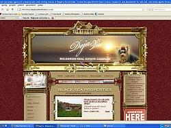 Фирмен уеб сайт за Агенция за недвижими имоти Дежа Ву