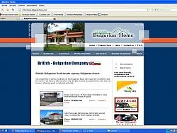 Изработка на сайт за Компания за недвижими имоти