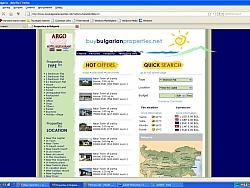 Уеб сайт за недвижими имоти с модерен уеб дизайн