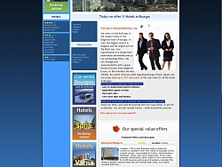 Изработка на уеб сайтове Бургас хотели