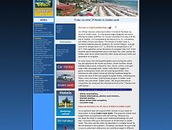 Изработка на уеб сайтове за  хотели в Златни пясъци