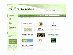 Изработка на сайт Nice to Nature
