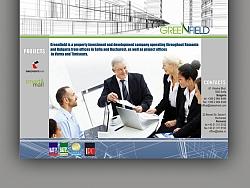 Изработка и дизайн на уеб сайт за Грийнфилд България