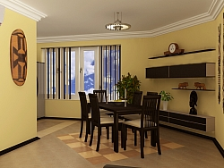 3D interior project for Maisonette